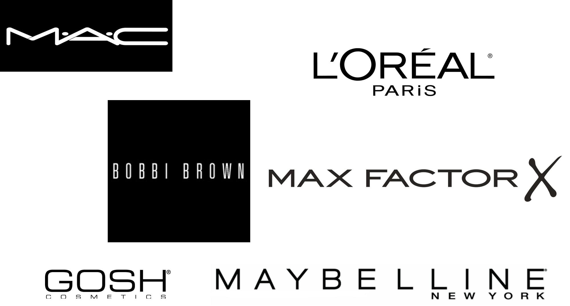 makeup brand logos 1