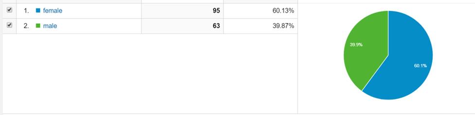 Google analytics demographics