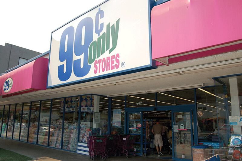 99 cent store differentiation
