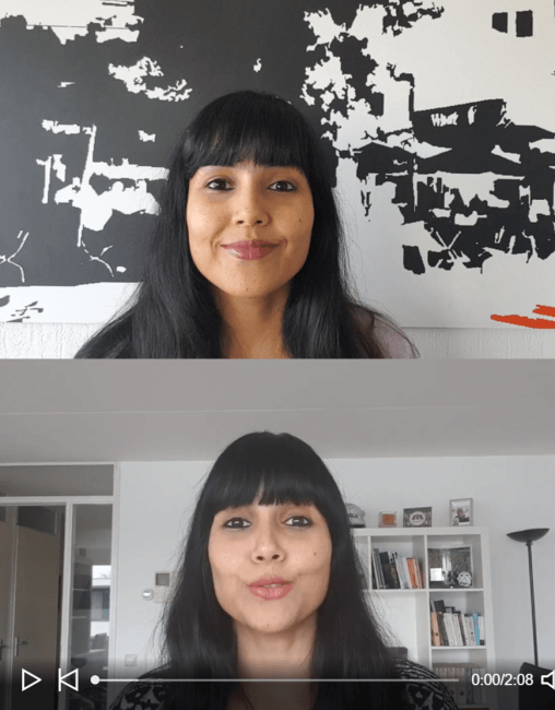 shoot Poulomi Basu talking head videos