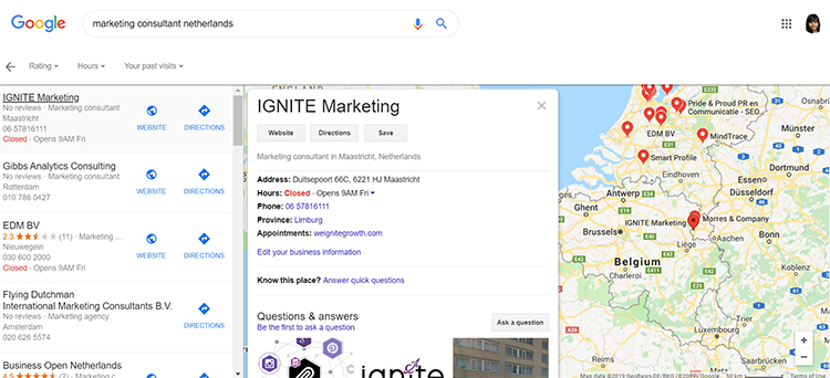 Google My Business marketing tip