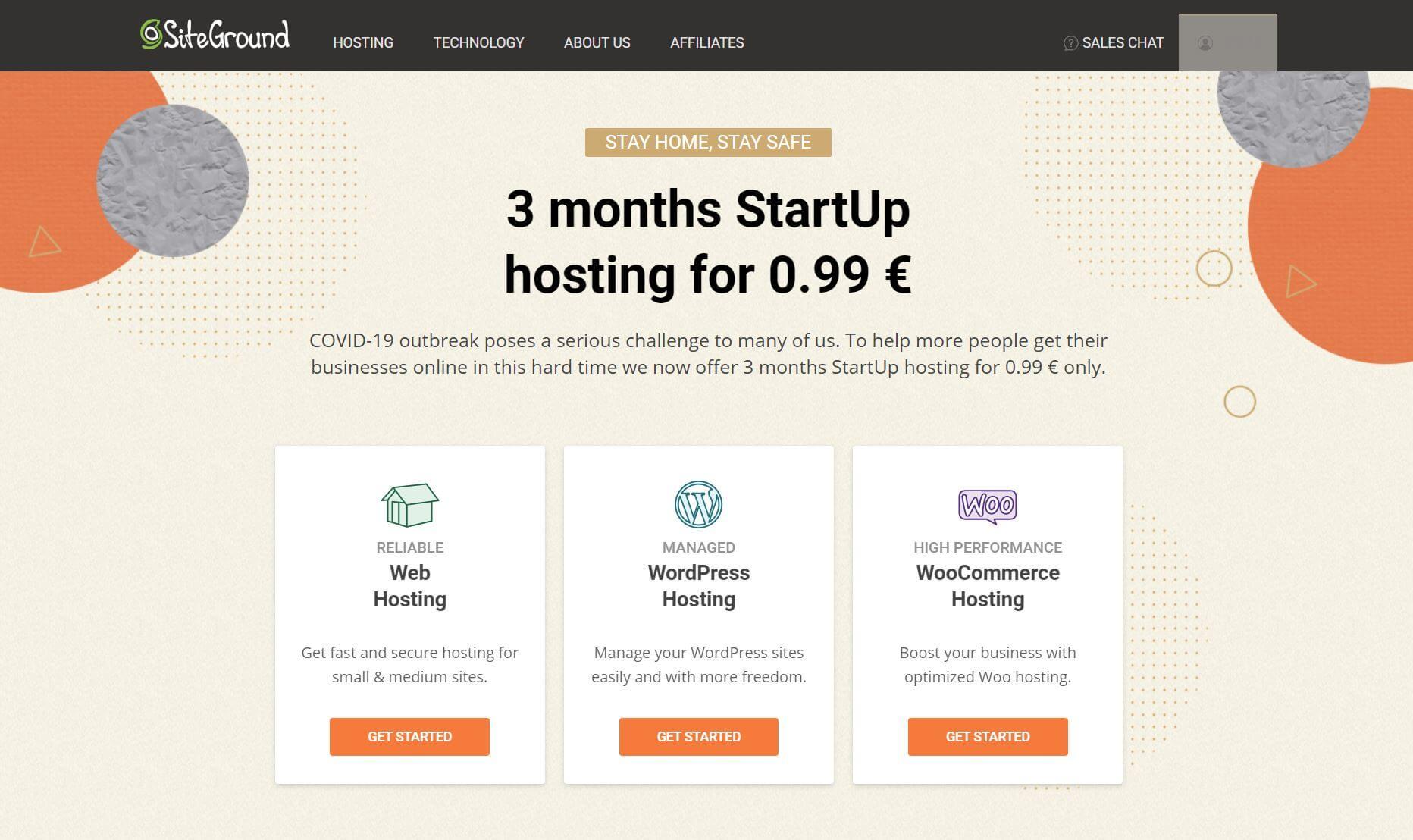 siteground hosting offer
