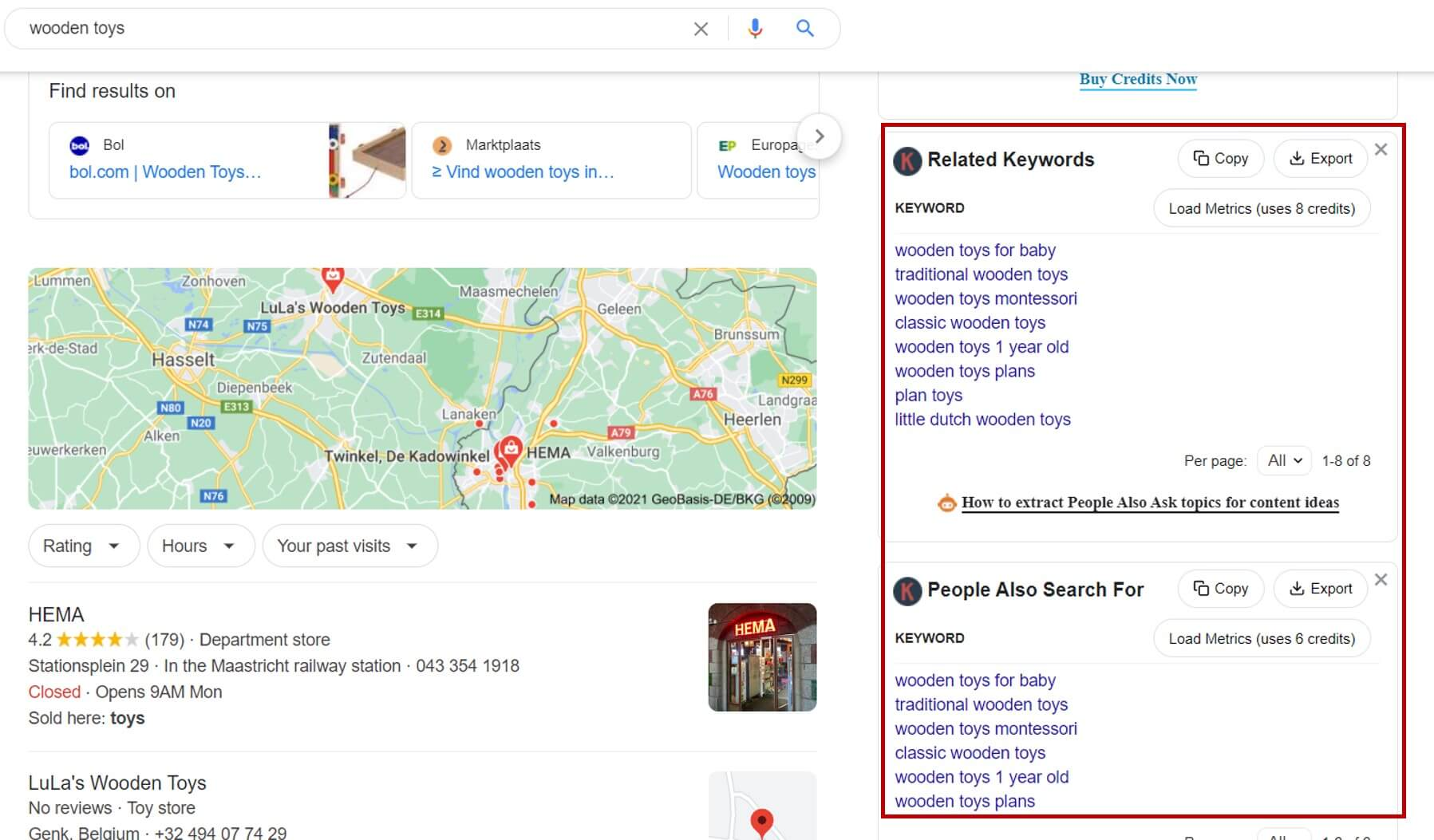 Keyword Research with Keywords Everywhere