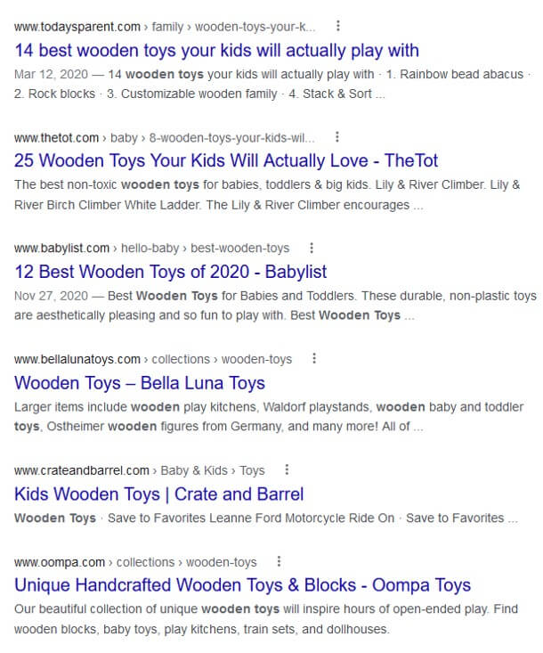 google results keyword research different location