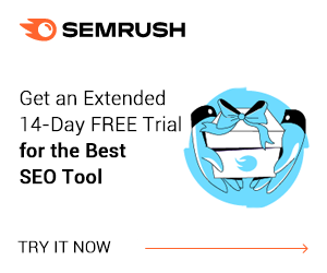 SEMRush Extended 14-Day FREE Trial